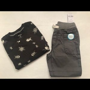 Carter's boy 4T outfit - NWT